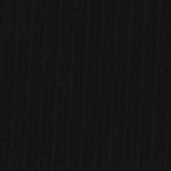 Tissu piqué de coton noir