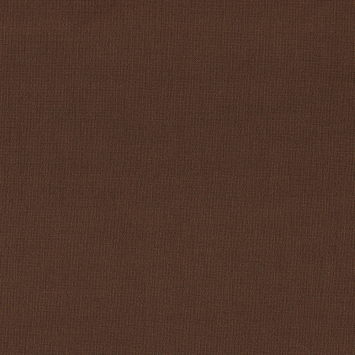 Brown stretch wool crepe fabric