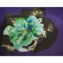 Tissu mousseline de soie imprimé fleur