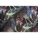 Abstract printed silk chiffon fabric (85 centimetres)