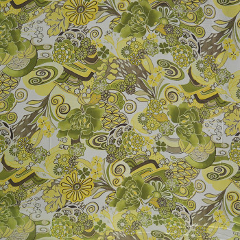 Floral printed georgette fabric