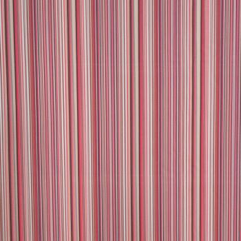 Tissu georgette imprimé lignes verticales
