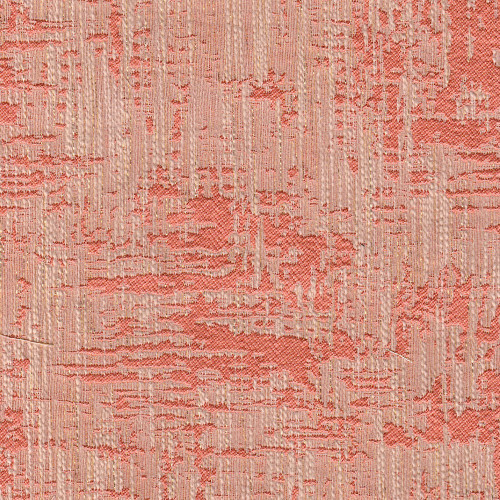 Coral gold thread jacquard fabric