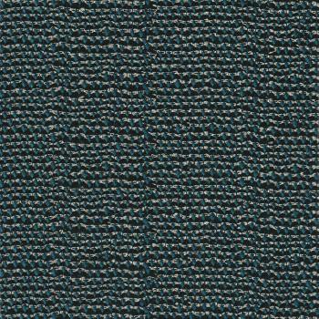 Tissu jacquard bleu canard fil or