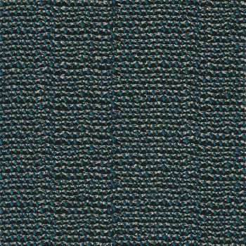 Tissu jacquard de laine bleu canard fil or