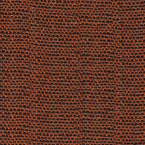Rust orange gold thread jacquard fabric
