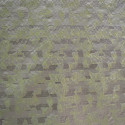 Anise green lurex jacquard fabric