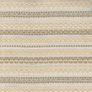 Tissu tissé et irisé effet tweed or et beige