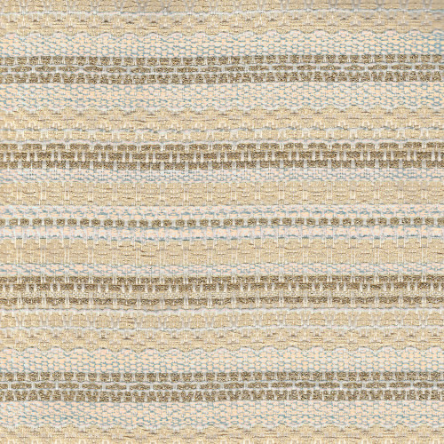 Woven and iridescent gold and beige tweed fabric