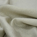 Ivory silk jacquard fabric