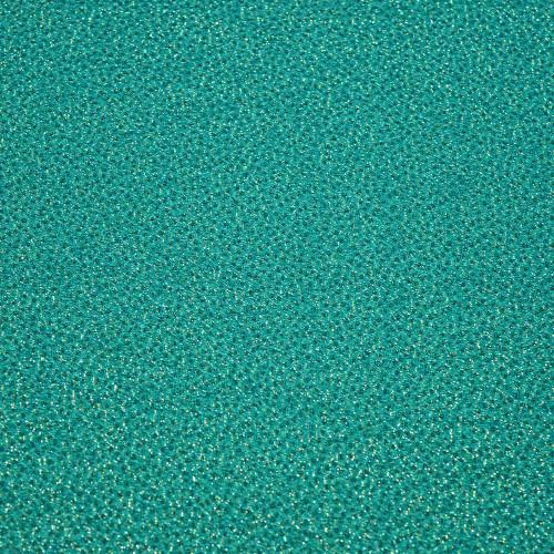 Tissu jacquard de soie turquoise