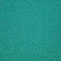 Turquoise silk jacquard fabric
