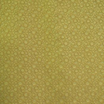 Tissu piqué de coton jacquard jaune