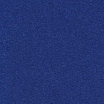 Tissu laine bouillie 100% laine bleu royal