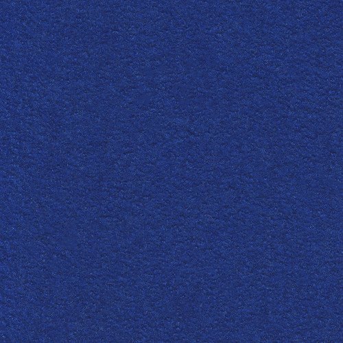 Boiled wool 100% wool fabric royal blue