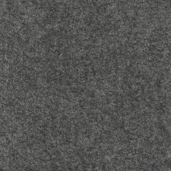 Boiled wool 100% wool fabric grey