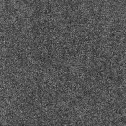 Tissu laine bouillie 100% laine gris