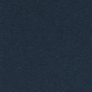 Boiled wool 100% wool fabric indigo blue