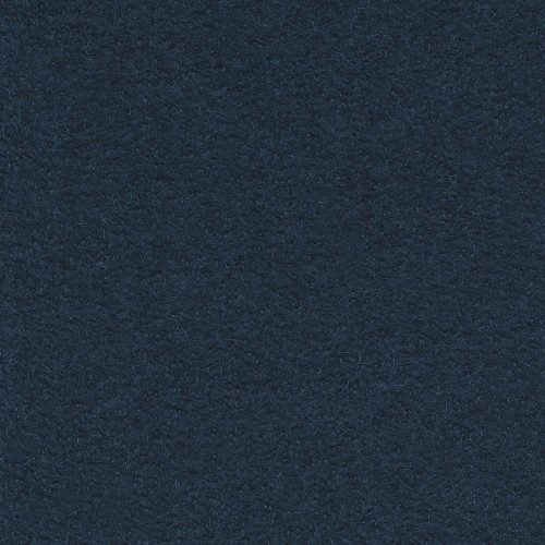 Boiled wool 100% wool fabric indigo blue