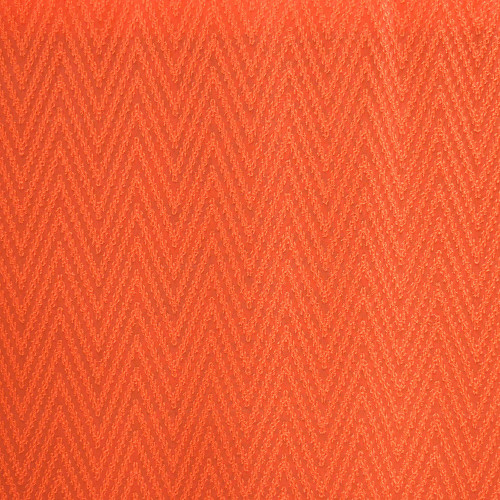 100% polyester voile fabric zig zag chevron orange