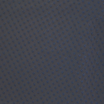100% polyester plumetis fabric navy blue