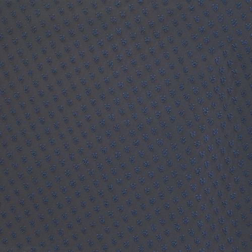 100% polyester plumetis fabric navy blue