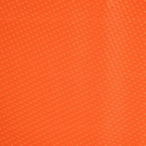 Tissu voile 100% polyester plumetis orange