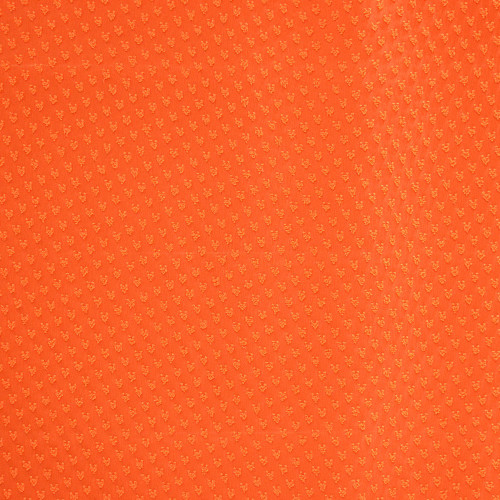 Voile fabric 100% polyester orange