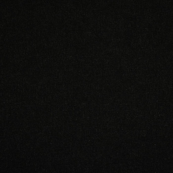 Black denim stretch fabric