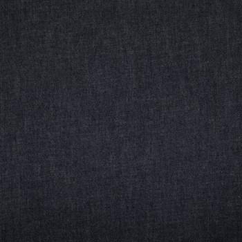 Tissu denim chambray bleu marine