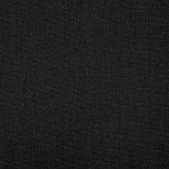 Tissu jean denim chambré noir