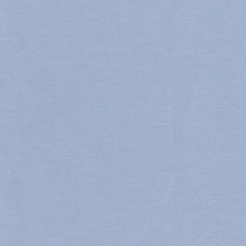 Tissu satin de coton bleu lilas